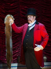 """John Rapson as Lord Adalbert D'Ysquith in a scene from """"A Gentleman's Guide to Love & Murder."""""""