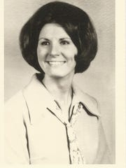 Nancy Smith Patrick's 1968 class photo.