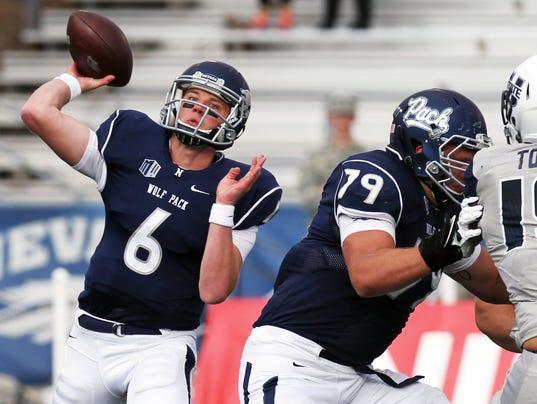 NCAA Football: Utah State at Nevada