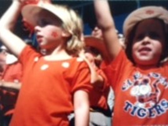 They are of me, my cousin (Lindsay Taylor), and my sister (Callie Crawford),  cheering from the stands