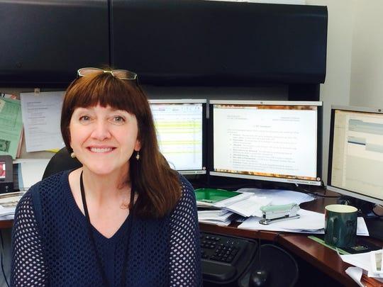 Wausau finance director Maryanne Groat in her City Hall office.
