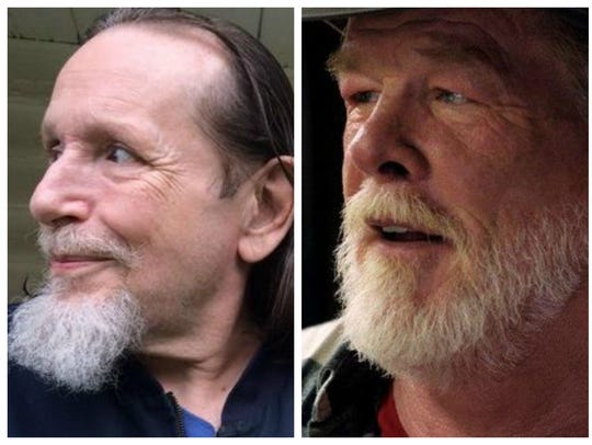 Matt Angerer on the left and Nick Nolte on the right.
