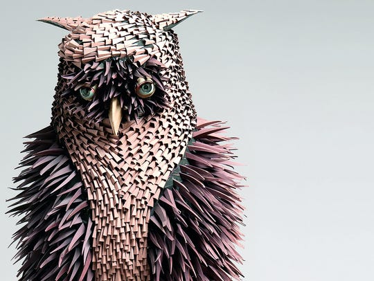 The owl was estimated to sell for $7,000 to $9,000