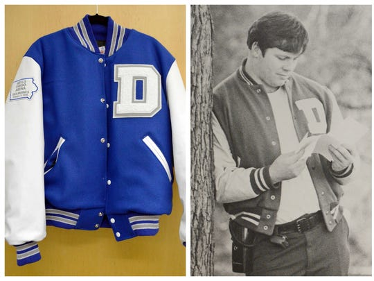 The Iowa Events Center staff gave Drake a custom letterman