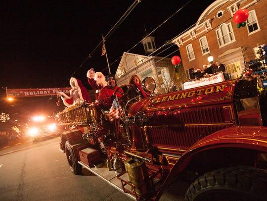 The Hunterdon Holiday Parade returns Dec. 3 to downtown Flemington.