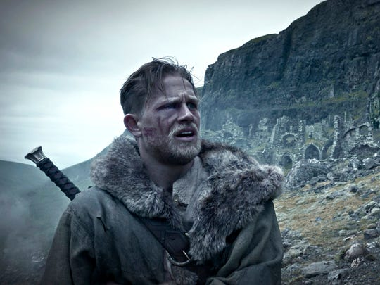 "Charlie Hunnam is a ""Game of Throne"" style Arthur in ""King Arthur: Legend of the Sword."""