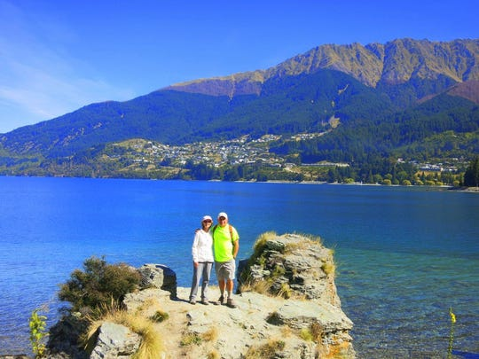 Ernie and Linda Dorling in New Zealand.