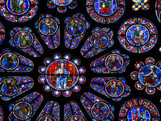 Chartres Cathedral boasts the world's largest surviving