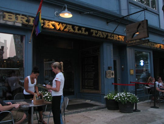 Brickwall Tavern and Dining Room on Cookman Avenue