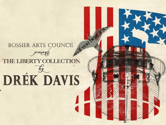 "Drék Davis: ""The Liberty Collection"" exhibit open through"