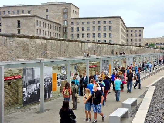The Topography of Terror exhibit in Berlin aims to