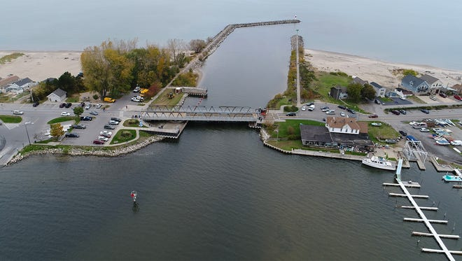 The Irondequoit Bay Outlet Bridge is scheduled to go back in place for vehicles on Nov. 1.