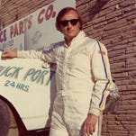 Despite a $200 bounty promised to any driver who could beat him, Larry Phillips took the checkered flag in a 1975 race at Fairgrounds Speedway.