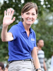 Lt. Gov. Kim Reynolds is viewed as a rising star in the Republican Party in Iowa.