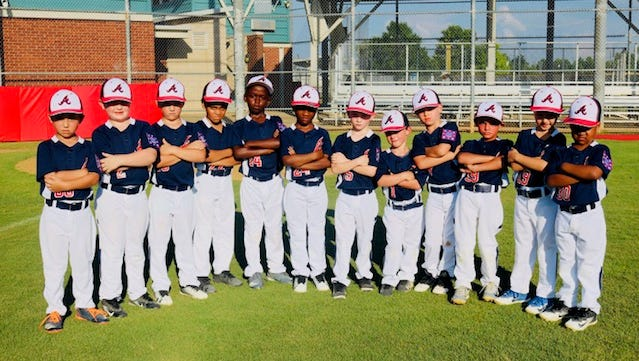The Alexandria National 6U Dixie Youth t-ball team will play in the Regional World Series starting Saturday in Center, Texas.