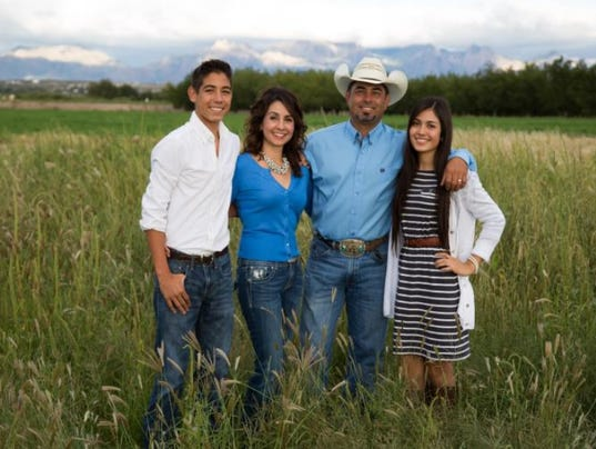 Jeff Flores family
