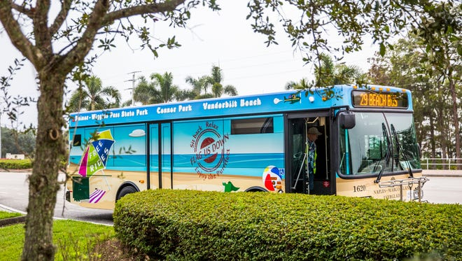 The beach shuttle resumes its North Naples route on Friday, Nov. 23. The free shuttle service includes stops at Delnor-Wiggins State Park and Vanderbilt Beach.