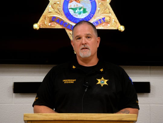 Former Undersheriff John Stevens left the Cascade County Sheriff's Office in 2017 to take a position asemergency manager for Cascade County's Disaster and Emergency Services. He left that position late last year, succeeded by Scott Van Dyken.