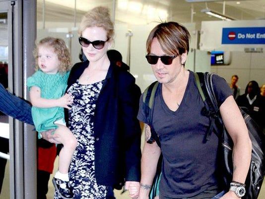 Nicole Kidman, Keith Urban and their daughters