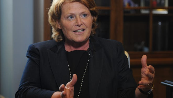 Capital Download with Sen. Heidi Heitkamp, D-N.D.