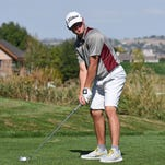 Windsor junior Cole Krantz, shown earlier this season, placed third at the 4A boys golf state championships in Longmont on Tuesday.