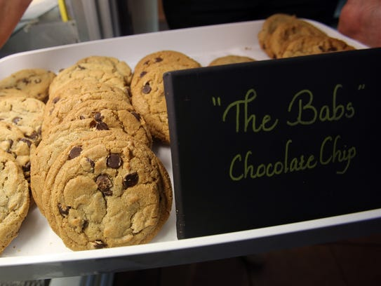 """""""The Babs"""" Chocolate Chip is one four different types"""