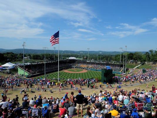 Baseball: Little League World Series-Southeast Region vs Mid-Atlantic Region