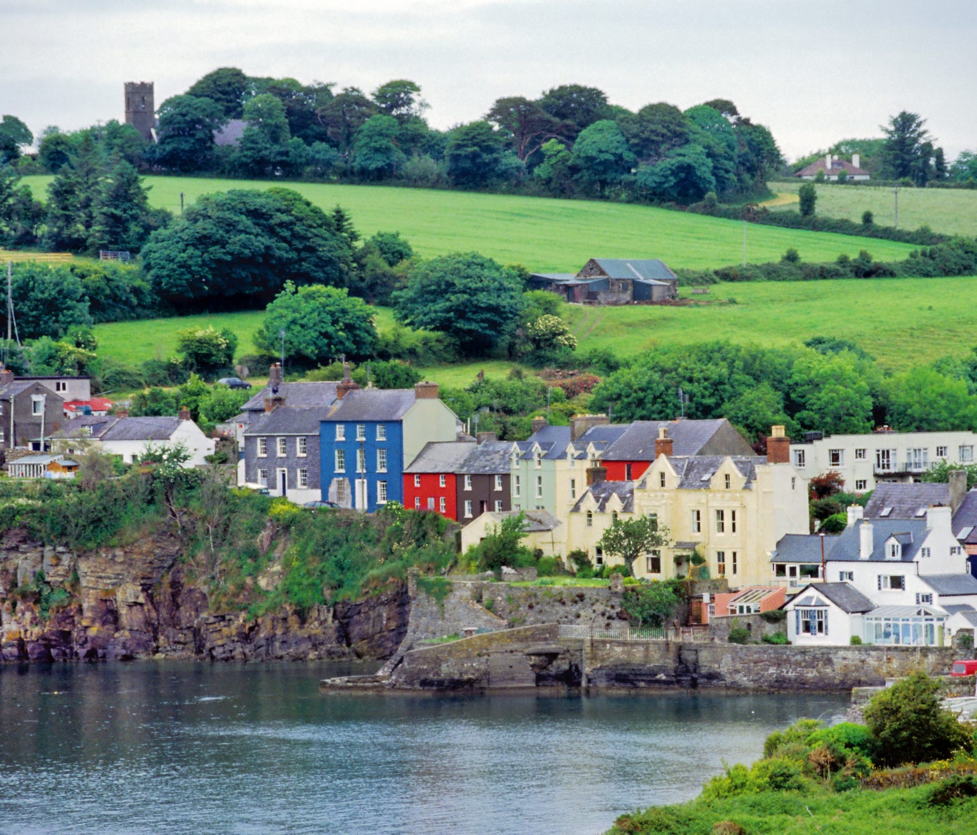 Ireland's legendary green countryside is the backdrop for the coastal town of Kinsale, a winner in the annual