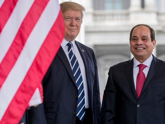 AP TRUMP US EGYPT A USA DC