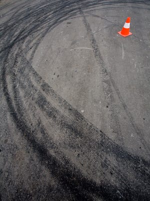 Drifting, a maneuver in which a vehicle slides sideways for a prolonged period, can burn a lot of rubber.