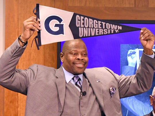 NBA Hall of Famer and former Georgetown Hoyas player