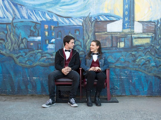"""Dylan Minnette and Katherine Langford in """"Thirteen Reasons Why."""""""