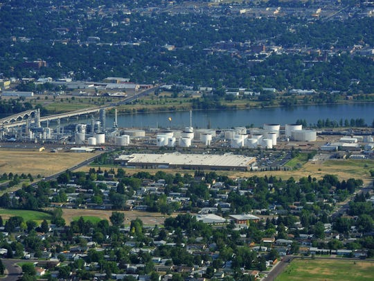 Calumet Montana Refinery is protesting its property taxes, which is affecting budgeting work by area local governments.
