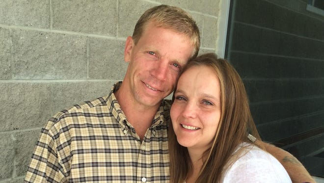 Russell Delano Foster and wife, Amber Foster, of Glasgow testified Thursday in front of the Senate Judiciary Committee.