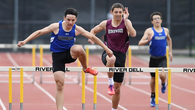 Kyle Mack and Ridgewood sit in the top spot for the boys track and field Top 25 rankings this week.