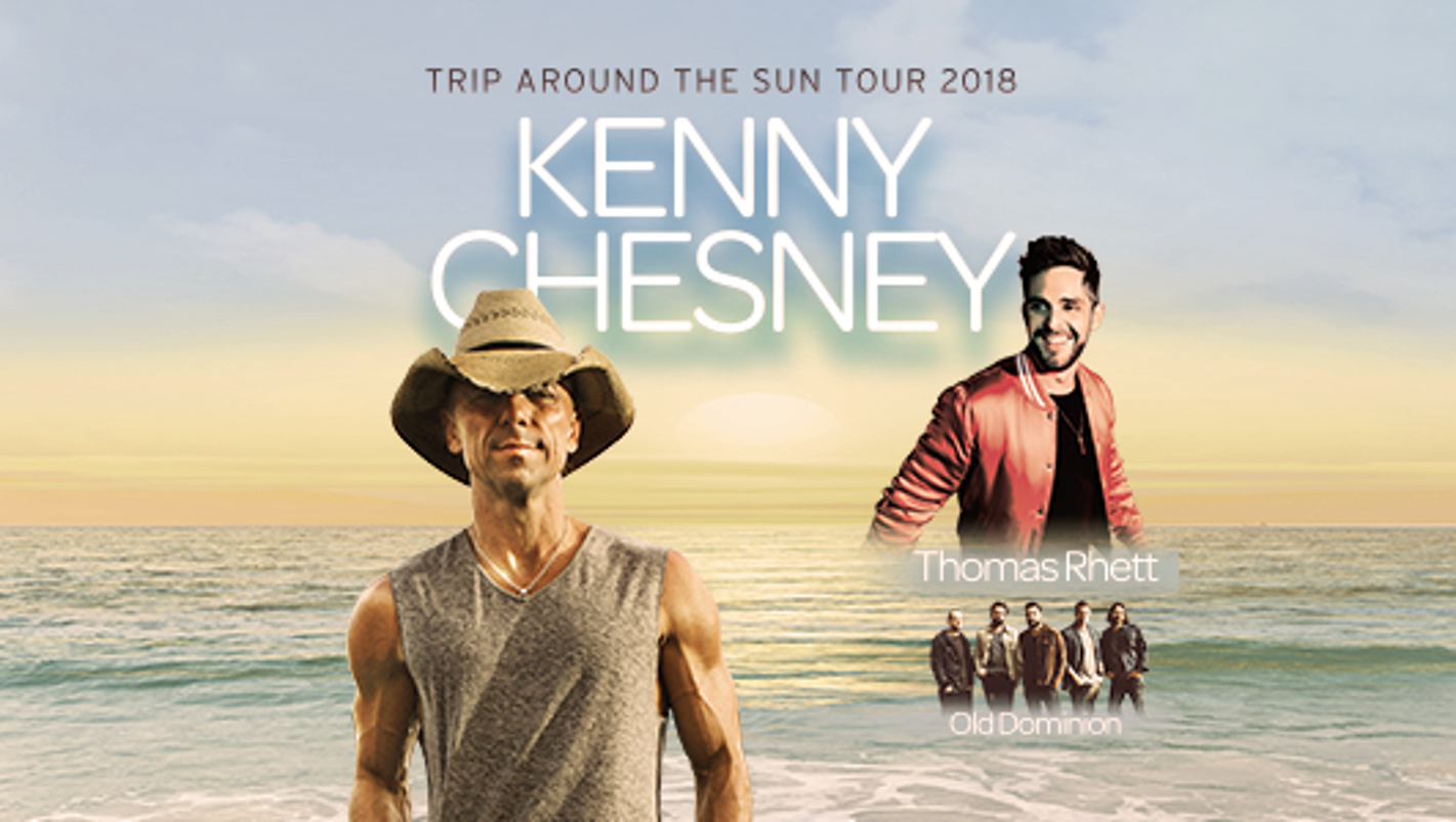 Kenny Chesney Trip Around The Sun Tour