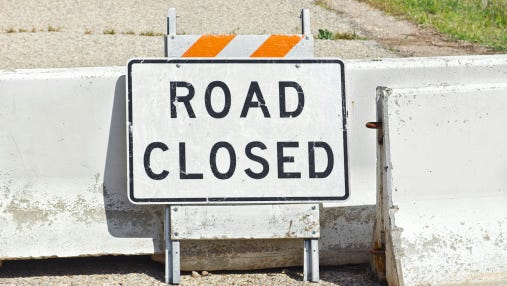 Route 130 northbound will be closed between the Brooklawn Circle and Old Salem Road while PSE&G makes emergency repairs to its gas line.