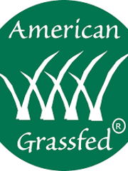 This logo on a product certifies that the food comes from animals that have eaten nothing but grass and forage from weaning to harvest.