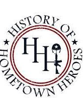 History of Hometown Heroes logo, as pictured.