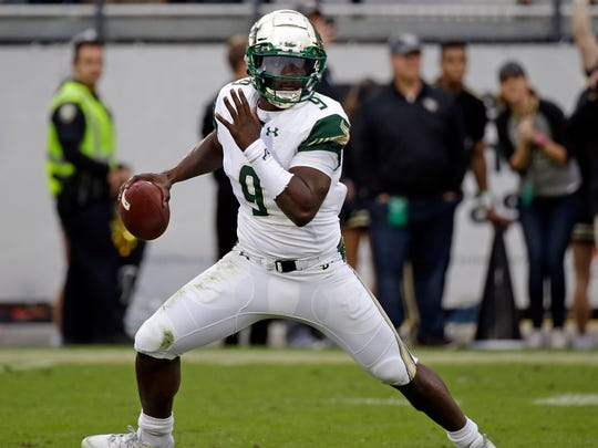 South Florida quarterback Quinton Flowers.