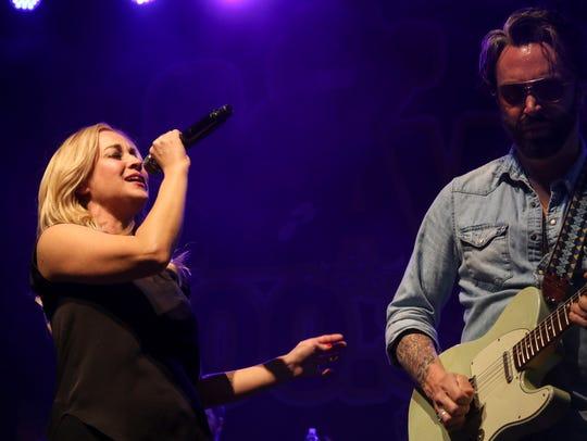 Rivers and Spires headliner Kellie Pickler performs