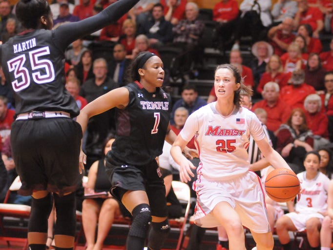 Videos marist runs out of gas in season ending wnit loss for A step ahead salon poughkeepsie ny