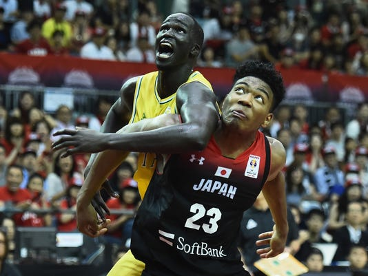 Japan v Australia - FIBA World Cup Asian Qualifier Group B