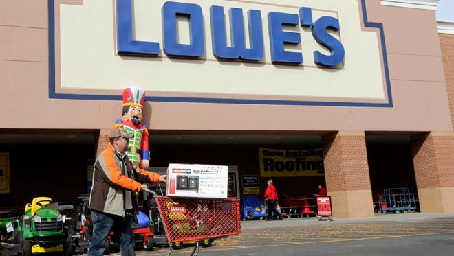 A Lowe's in Salisbury, Maryland.