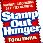 stamp out hunger drive is May 14, 2016