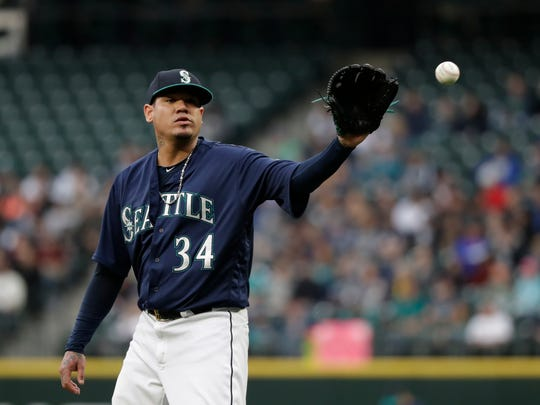 Felix Hernandez and other Mariners teammates say they don't believe Robinson Cano would take steroids.