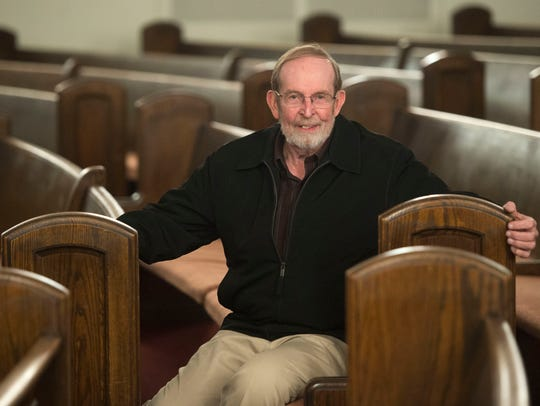 The Rev. Don Olive on East Fifth Avenue Baptist Church