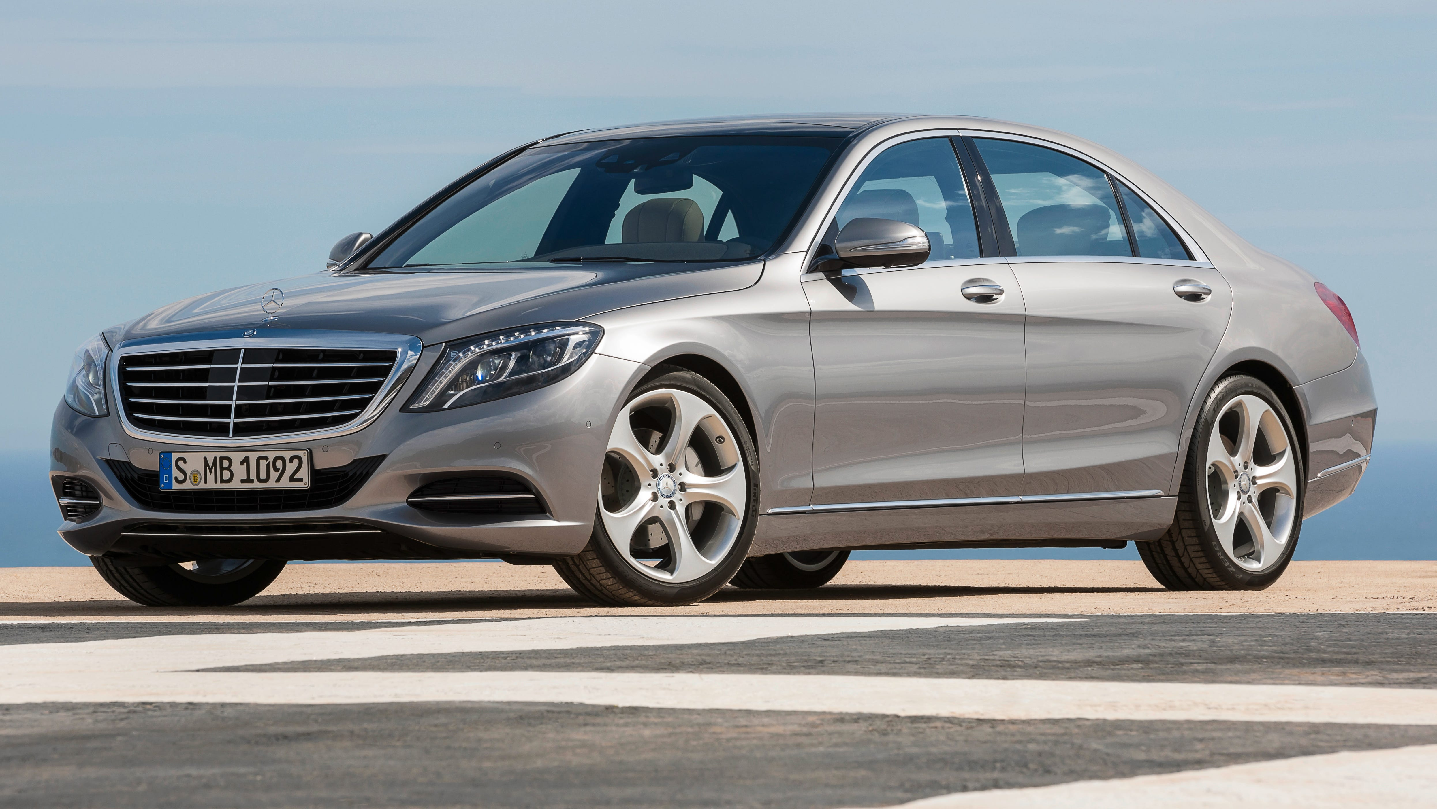 This year's Edmunds.com Top 10 Best Cars for Short Drivers includes the Mercedes-Benz S-class, the most expensive car on the list, starting at $93,255 (2014 model shown here).