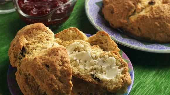 Irish Soda Bread is as simple to make as it is hearty