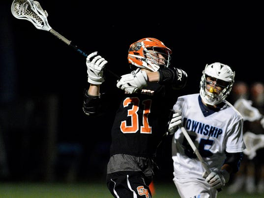 Central York vs Manheim Township in District 3 63A boys lacrosse semifinal